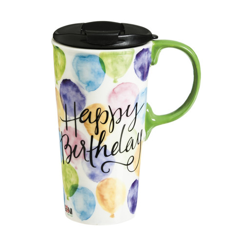 Travel Mug,  Happy Birthday