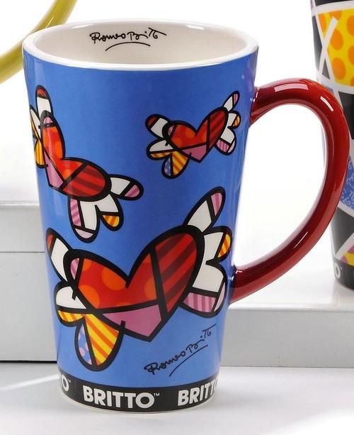 Mug, Flying heart/New Day