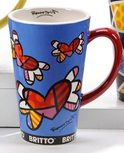 Mug, Flying heart/New Day