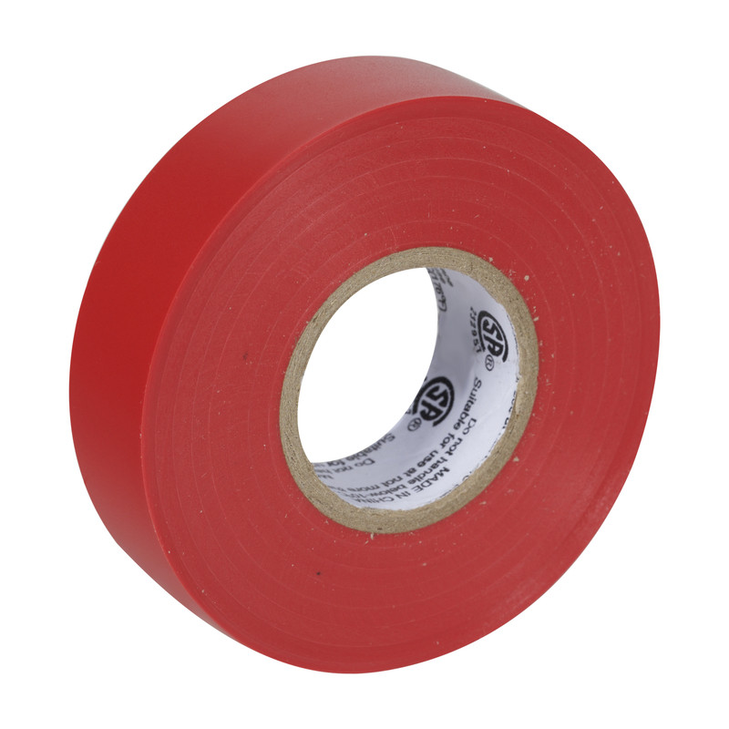 """Electrical Tape 3/4"""" x 66' Red"""