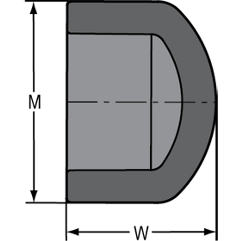 SCHEDULE 80 1-1/4 SLIP CAP