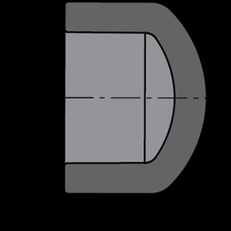 SCHEDULE 80 1-1/2 SLIP CAP