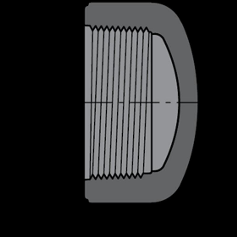 SCHEDULE 80 1-1/4THREAD CAP