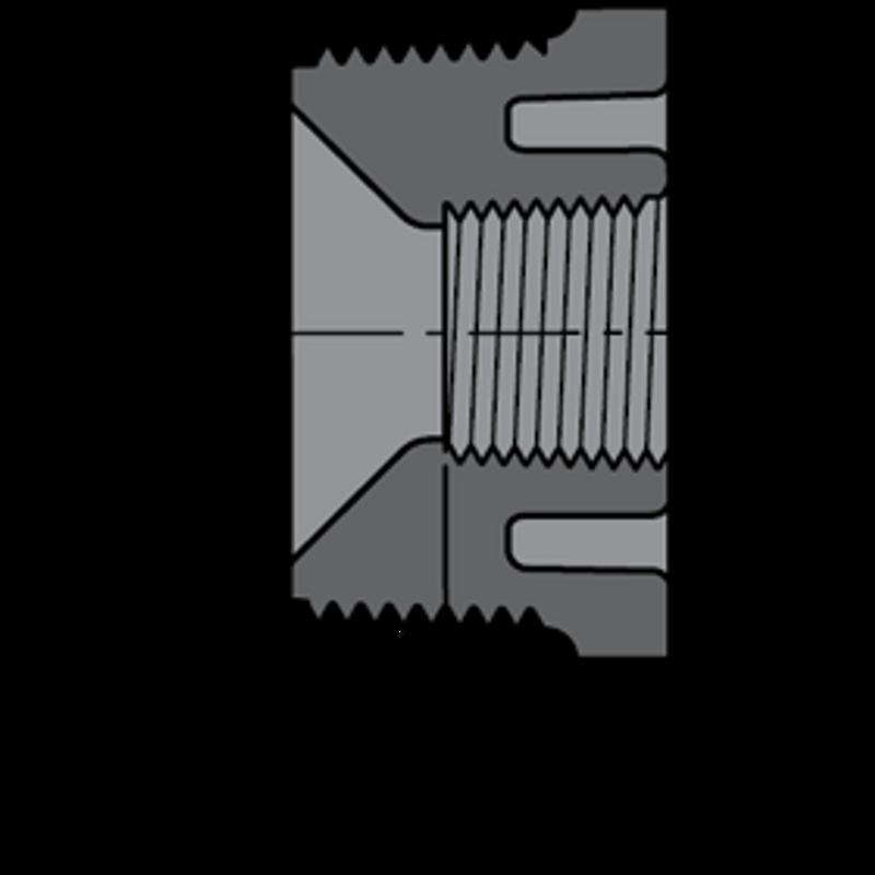 SCHEDULE80 3/4X1/2 BSH MPT-FPT