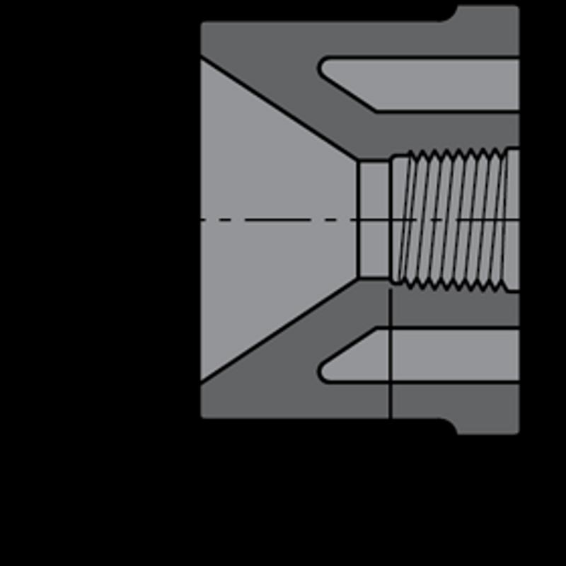 SCHEDULE80 3/4X1/2 BSH SLP-FPT