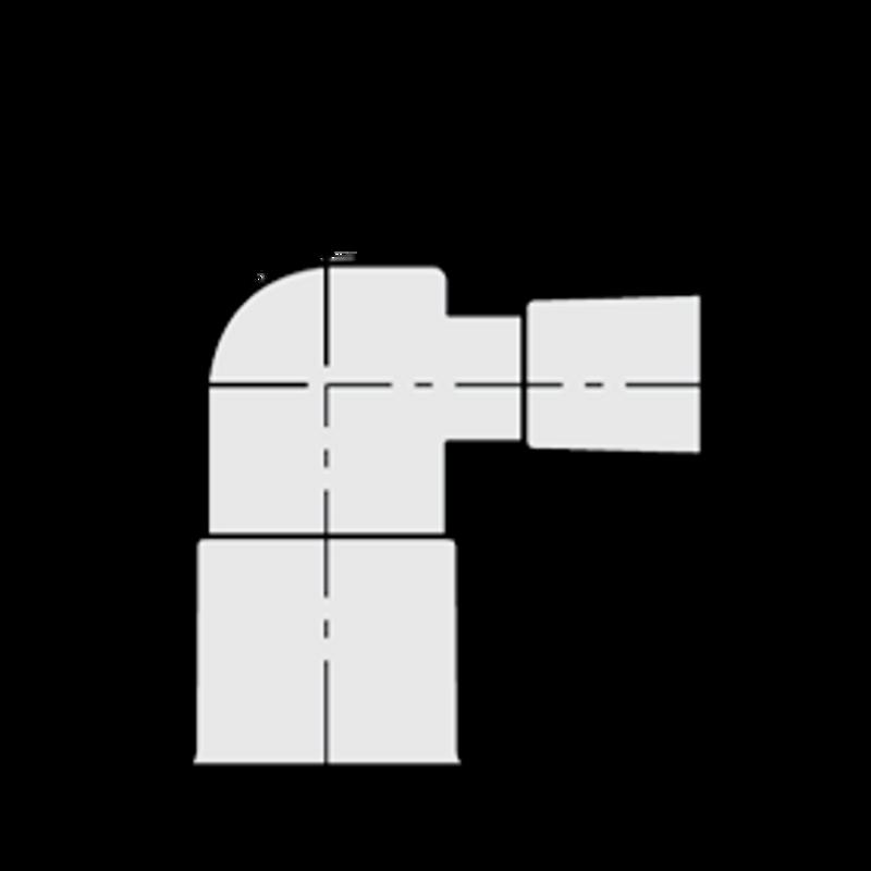 ELBOW 90 2 X 1-1/2 ' PVC 40 SLIP