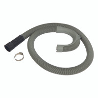 Ultra Dynamic Products Plastic Washing Machine Hose 1 in. Dia. x 5 ft. L