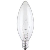 Westinghouse 40 watt B9.5 Decorative Incandescent Bulb E12 (Candelabra) Soft White 2 pk