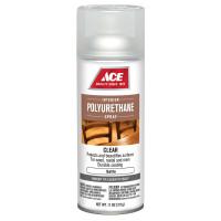 Ace Satin Clear Polyurethane Spray 11 oz.