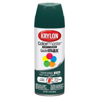 Krylon ColorMaster Gloss Hunter Green Spray Paint 12 oz.