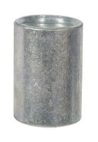 BK Products 1/4 in. FPT x 1/4 in. Dia. FPT Galvanized Malleable Iron Coupling