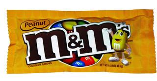 M&M's Peanut Chocolate Candies 1.74 oz.