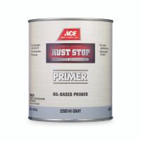 Ace Rust Stop Gray Oil-Based Primer 1 qt.