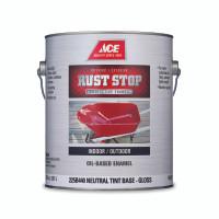 Rust Stop Indoor / Outdoor Gloss Neutral Base Enamel Paint 1 gal