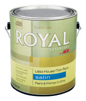 Ace Royal Satin Tintable Base Acrylic Latex House & Trim Paint & Primer 1 gal.