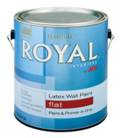 Ace Royal Flat Ultra White Latex Paint Indoor 1 gal.