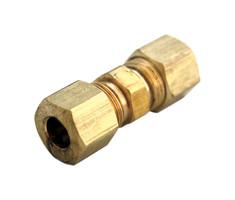 Ace 5/16 in. Compression x 5/16 in. Dia. Compression Brass Union