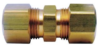 Ace 3/8 in. Compression x 3/8 in. Dia. Compression Yellow Brass Union