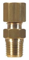 Ace 5/8 in. Compression x 1/2 in. Dia. Male Brass Compression Connector