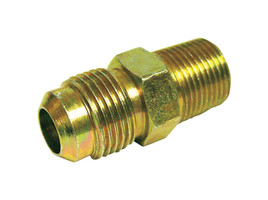 Ace 3/8 in. Flare x 1/4 in. Dia. Brass Adapter