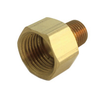 JMF 1/4 in. FPT x 1/4 in. Dia. FPT Brass Reducing Coupling