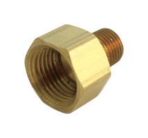 JMF 1/2 in. FPT x 3/8 in. Dia. MPT Brass Reducing Coupling