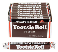 Tootsie Roll Chocolate Chewy Candy 2.25 oz.