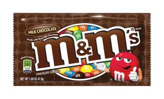 M&M's Milk Chocolate Chocolate Candies 1.69 oz.