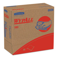 WYPALL X80 Red shop towels 9.1 X 16.8 Box