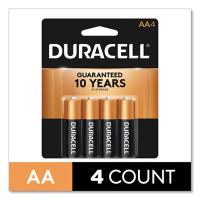 BATTERY ALKALINE DURACELL AA CD4