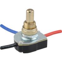 2-Speed Fan Push Switch (6 Amp-125 Volt x 3 Amp-250 Volt)