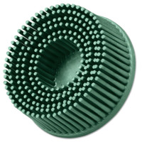 Roloc Bristle Discs, 2 inch, 50, 25,000 rpm, Ceramic Abrasive Grain, Green