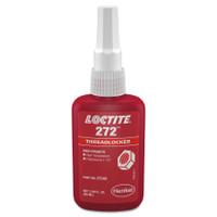 272 Threadlockers, High Temp/High Strength, 50 mL, Red