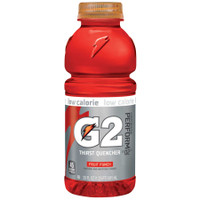 G2 20 Ounce. Wide Mouth, Fruit Punch, Bottle