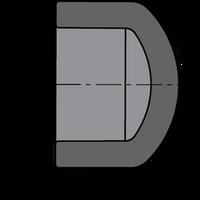 SCHEDULE 80 PVC CAP 3/4 SXS