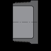 SCHEDULE 80 PVC THREAD PLUG 1/2