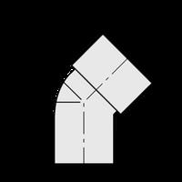 ST.ELL 45 SCHEDULE 40 PVC 3/4