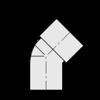 ST.ELL 45 SCHEDULE 40 PVC 1-1/2