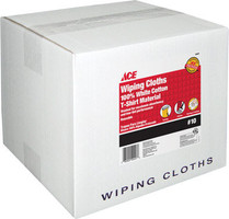 WIPING CLOTHS WHITE #10 BOX