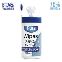 DISINFECTANT WET WIPES ALCOHOL PACK 80