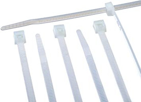 """TIES WIRE WHITE 11"""" 1000 COUNT"""