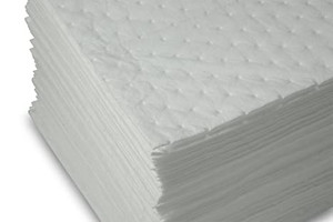 ABSORB PAD OIL ONLY 15X18 WHITE 100