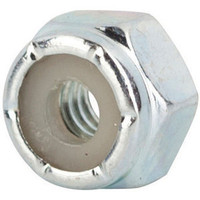 STOP NUTS ZINC PLATED      4-40  100/BX