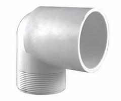 ELBOW 90 PVC 40 1/2 S X MPT