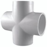 CROSS SCHEDULE 40 PVC 3/4 SLIP