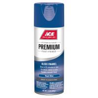Ace Premium Gloss Royal Blue Enamel Spray Paint 12 ounce