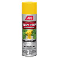 Ace Rust Stop Gloss Safety Yellow Spray Paint 15 ounce
