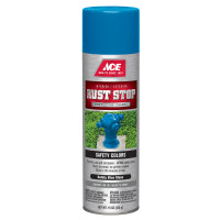 Ace Rust Stop Gloss Safety Blue Spray Paint 15 ounce