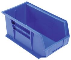 BIN 14-3/4 X 8-1/4 X 7 BLUE