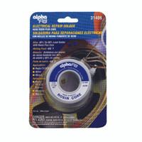 Alpha Fry 4 ounce Rosin Core Solder Wire 0.09 inch Diameter Tin Lead 40 60 1 piece